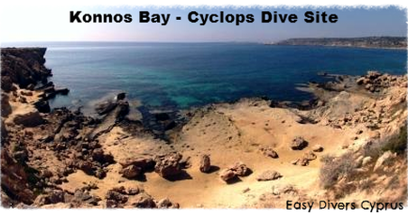 Cyclops dive site in protaras cyprus