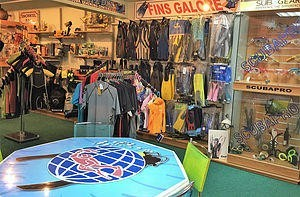 Dive Equipment Sales in store diving in cyprus