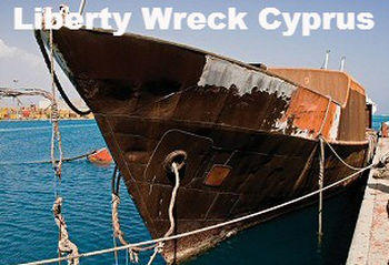 Liberty Wreck in Protaras Cyprus