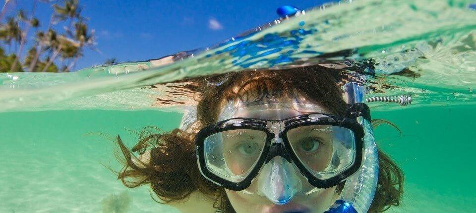 snorkeling green bay