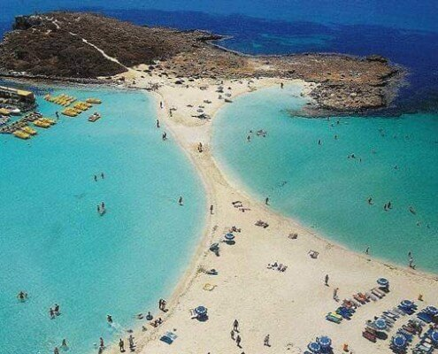 Cyprus beaches are ranked No1 and No3 in the Top 10 Best Beaches in Europe! Ayia Napa Cyprus Ayia Napa Cyprus Interestingly enough, Ayia Napa beaches came 1st on the list, with Protaras beaches is ranked 3rd!