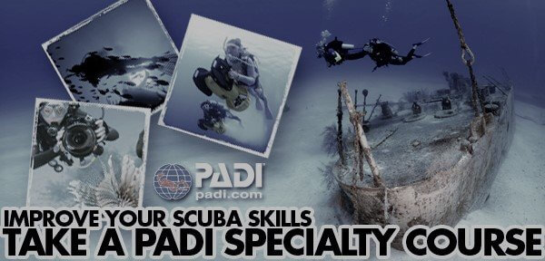 padi speciality courses cyprus