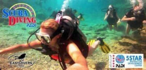 first time scuba diving