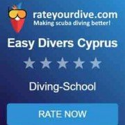 rate your dive at easy divers in cyprus