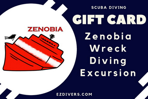 Scuba Diving Gift Card - Zenobia