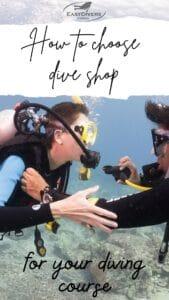 how to choose dive shop