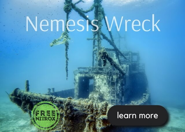 Nemesis Wreck - wreck diving