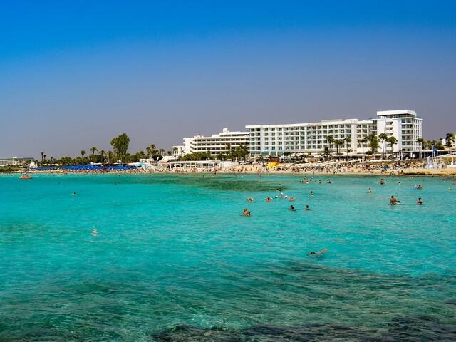 best beaches Cyprus - Ayia Napa