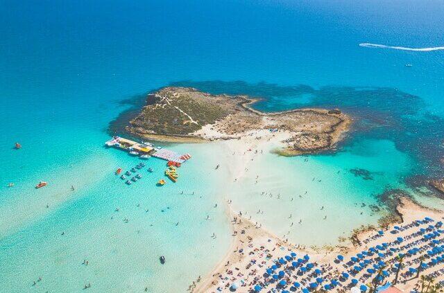 best beaches Cyprus - Nissi Beach